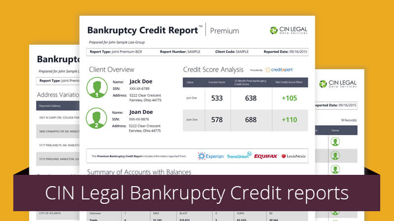 Six Reasons Bankruptcy Credit Reports are Superior